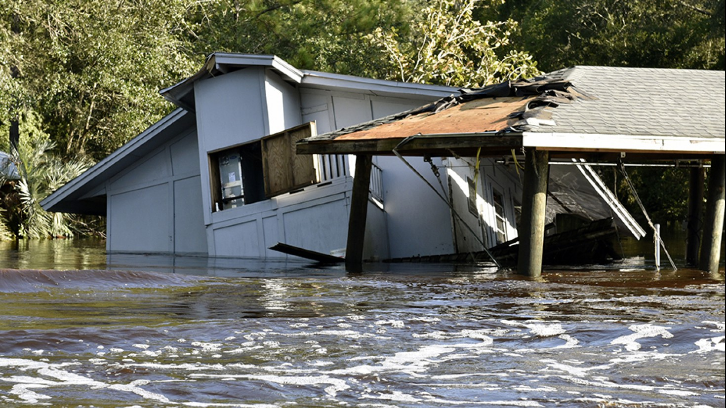 Damages after hurricane IRMA in Florida, US. photo: Florida Fish and Wildlife @ Flickr