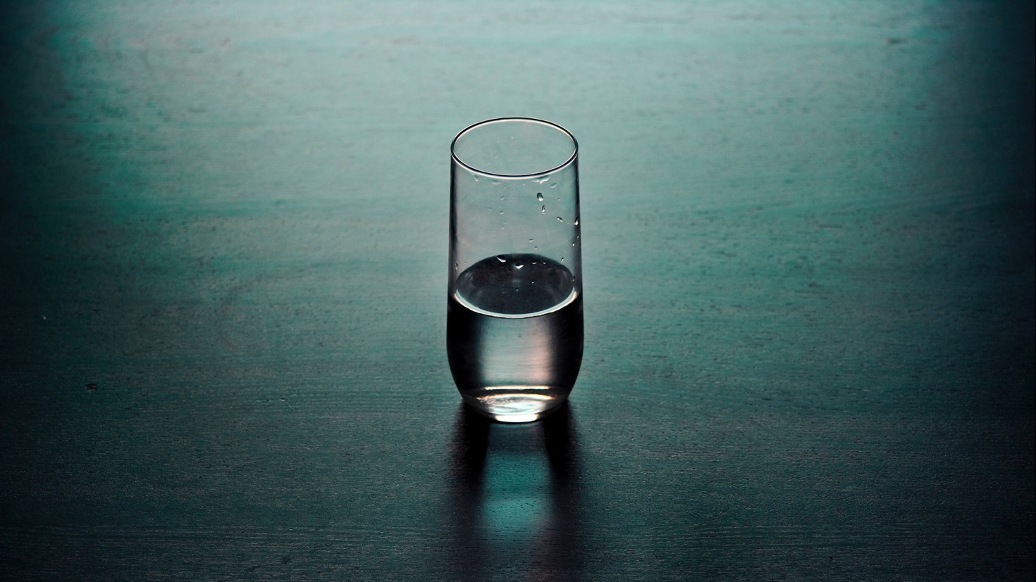 YOU MIGHT THINK OF ANNUAL EMISSIONS AS DROPS OF WATER FALLING INTO A GLASS, AND ACCUMULATED EMISSIONS AS THE AMOUNT THAT'S IN THE GLASS. WHAT WE'VE BEEN DOING FOR MOST OF HISTORY IS INCREASING THE RATE AT WHICH THOSE DROPS FALL INTO THE GLASS, FILLING IT UP FASTER: ACCELERATING.