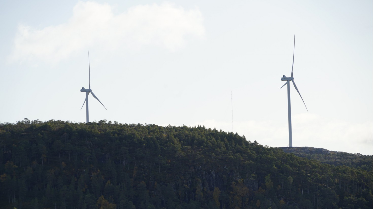 How much wind power is produced depends on the weather. The expansion of wind energy thus makes it more important for power producers to have access to reliable long-term forecasts. Photo by Iselin Rønningsbakk / CICERO Center for International Climate Research.
