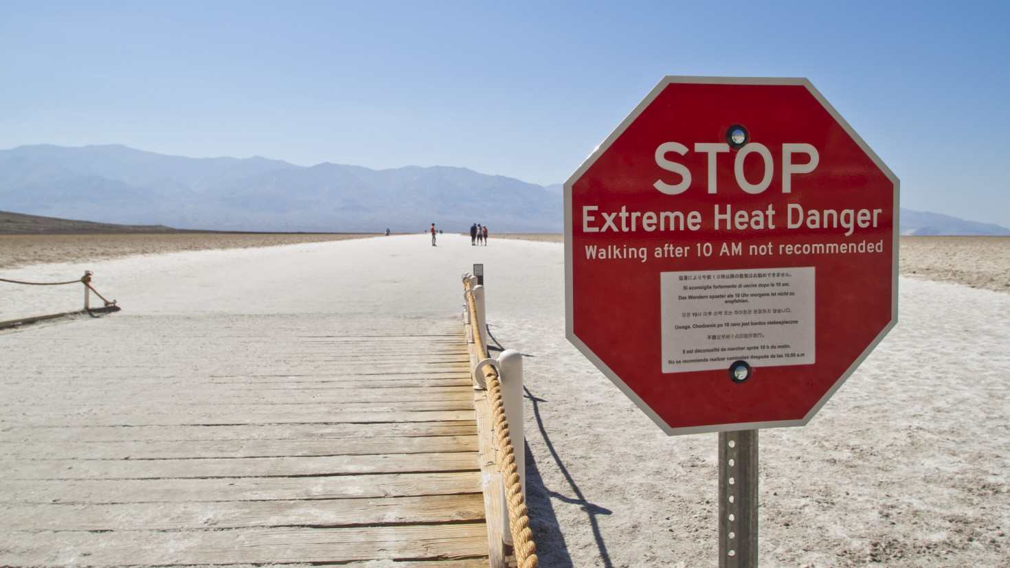 Extreme heat and air pollution may lead to a range of health effects: heat exhaustion and dehydration as well as, indirectly, increased chemical exposure and poisoning. photo: Graeme Maclean @ flickr.com